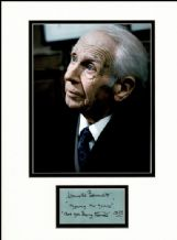 Harold Bennett Autograph Signed Display - Are You Being Served?